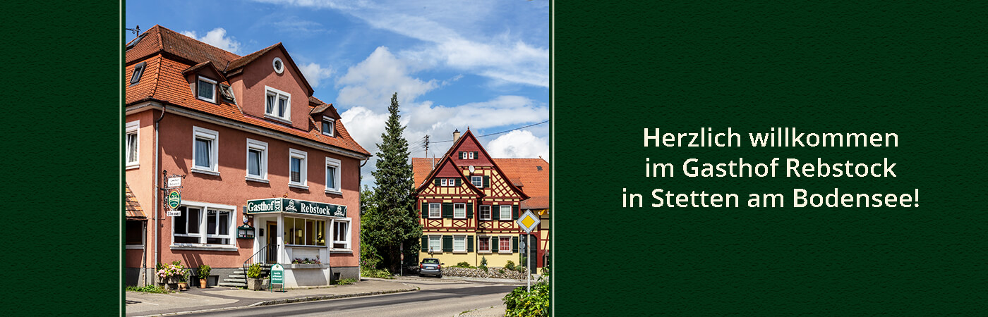 Der Gasthof Rebstock in Stetten am Bodensee