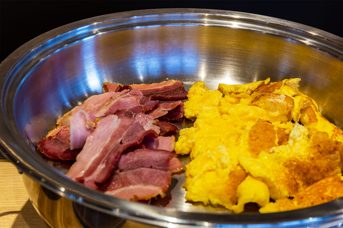 Frühstück im Rebstock